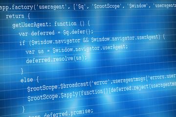 Web code sample