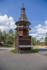 Arkhangelsk, Russia. Belfry, 1854