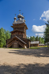 Arkhangelsk, Russia. Church of the Ascension, (1669)