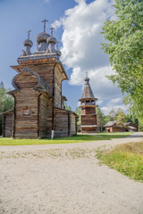 Arkhangelsk, Russia. Church of the Ascension, 1669, bell tower