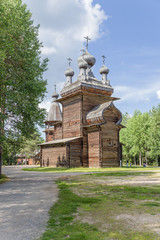 Arkhangelsk, Russia. Church of the Ascension, 1669.