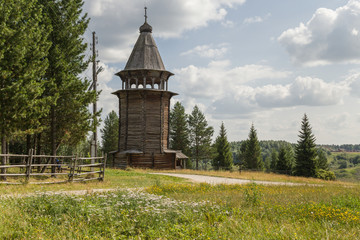 Arkhangelsk, Russia. Bell tower, end of XVI c. - 4