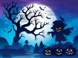 Spooky tree theme image 6