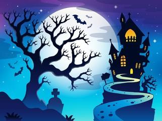 Spooky tree theme image 7