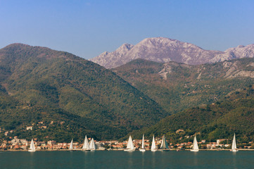 Mountains near the Bay of Kotor