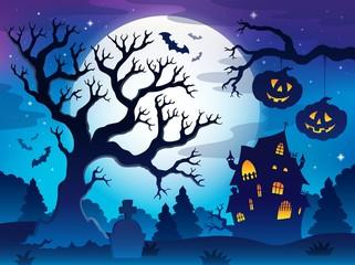 Spooky tree theme image 8