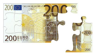 200 € puzzle