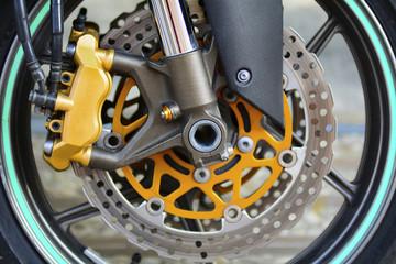 motor disk fren mekanizması