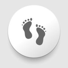 Feet prints icon