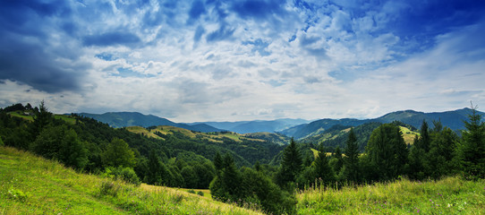 Carpathian mountain