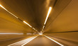 Abstract speed motion highway tunnel