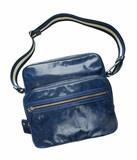 blue handbag isolated on white