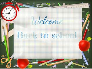 Back to school season sale. EPS 10