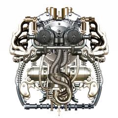 mechanical figure