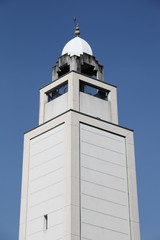 Minaret of the mosque of Lyon