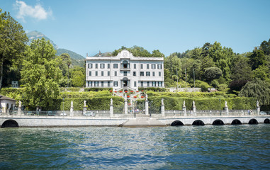 Villa at Como lake