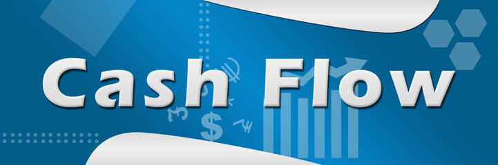 Cash Flow Business Theme Background