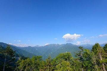Shirabiso Highland in Iida, Southern Nagano, Japan