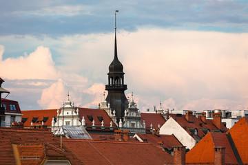 Maribor, Slovenia, roofscape