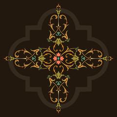 Oriental ornament vector design