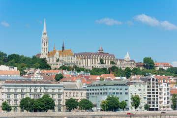 Fisherman's Bastion and Matthias Church Budapest