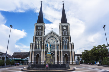 Cathedral in Chantaburi