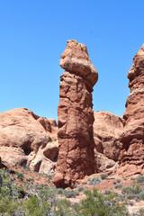Rocks in Arches National Park - Utah