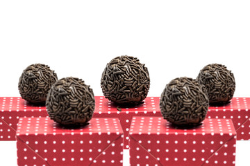 The famous Brazilian sweet called Brigadeiro