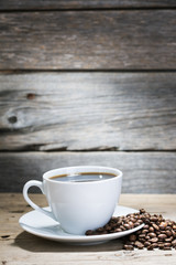 warm cup of coffee