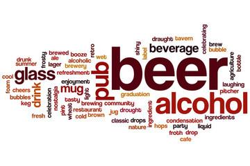 Beer word cloud