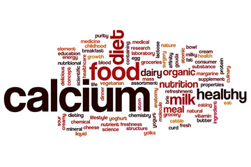 Calcium word cloud