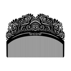 Vector Ornate Comb