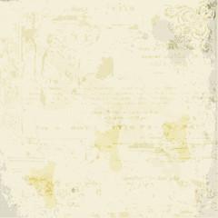 Old paper. Vector illustration.