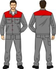 Working suit