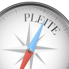 Kompass Pleite