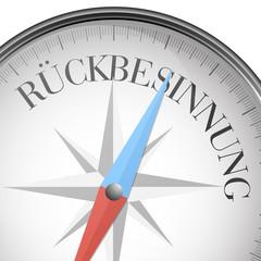 Kompass Rückbesinnung