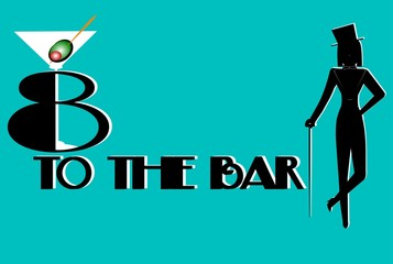 8 to the bar happy hour concept