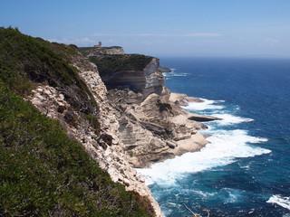 Korsika - Steilküste bei Bonifacio
