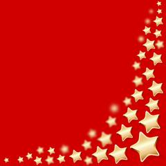 Sterne Hintergrund rot unten rechts