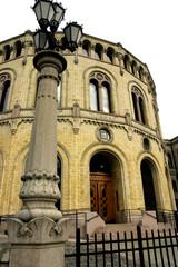 oslo palazzo del parlamento