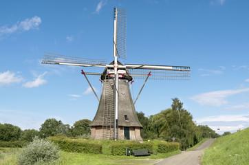 Flour mill of Waardenburg, the Netherlands.
