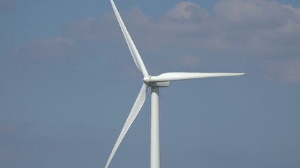 Windmill, Clean Energy from Wind Power Farm, Electricity
