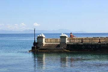 Kaiser Wilhelm's Bridge, Corfu
