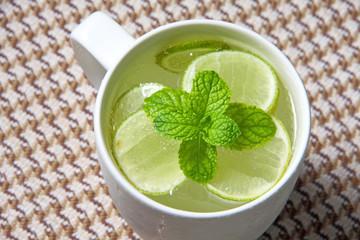 Honey lime soda.
