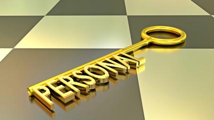 Personal Schlüssel