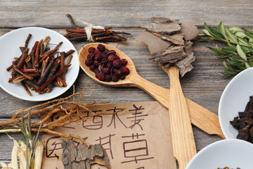 Traditional chinese herbal medicine ingredients with not real