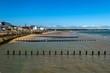 Leinwanddruck Bild - English Seaside Resort