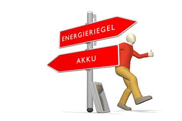 Akku / Energieriegel