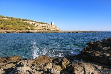 parco naturale regionale di porto selvaggio - puglia, italia