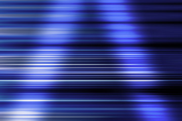 Blue Speed Blur Background